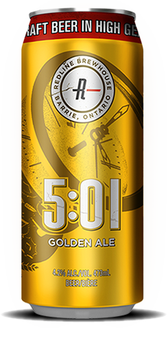 Redline 5:01 Golden Ale