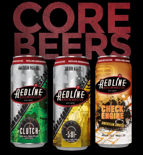 Redline Core Beers