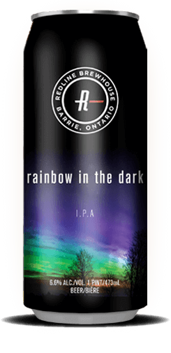 rainbow in the dark can