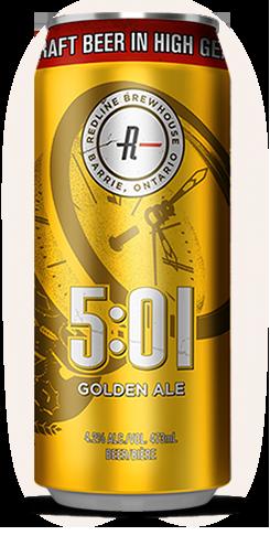 Redline 5:01 Golden Ale