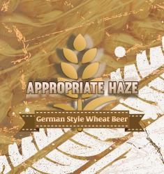 appropriate haze german style wheat beer