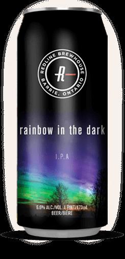 rainbow in the dark can