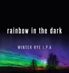 rainbow in the dark winter rye ipa