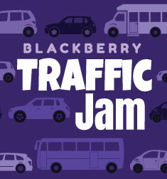 blackberry traffic jam