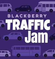 blackberry traffic jam